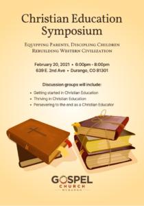 Christian Education Symposium